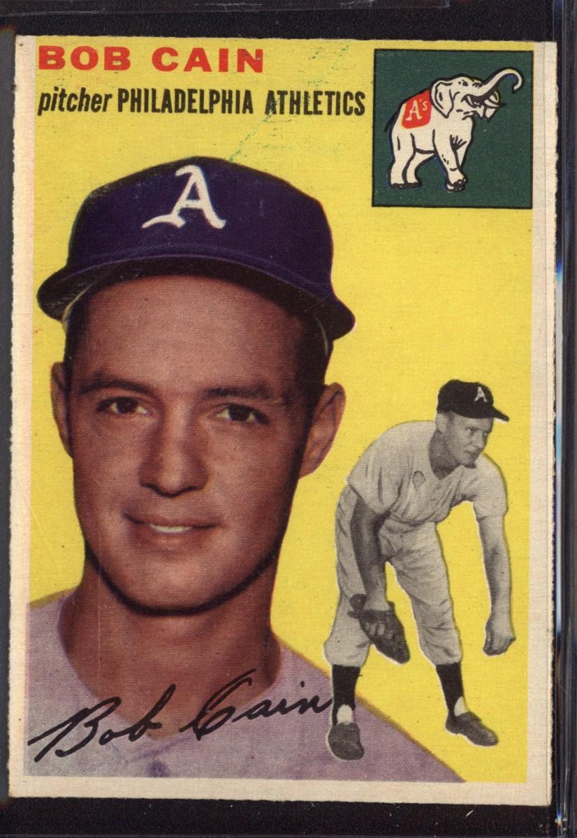 1954 Topps #61 Bob Cain