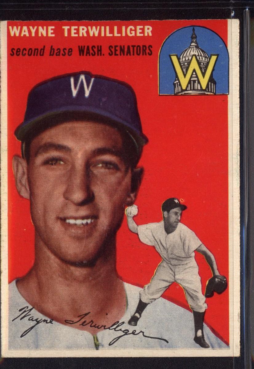 1954 Topps #73 Wayne Terwilliger