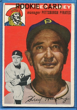 1954 Topps #75 Fred Haney MG RC