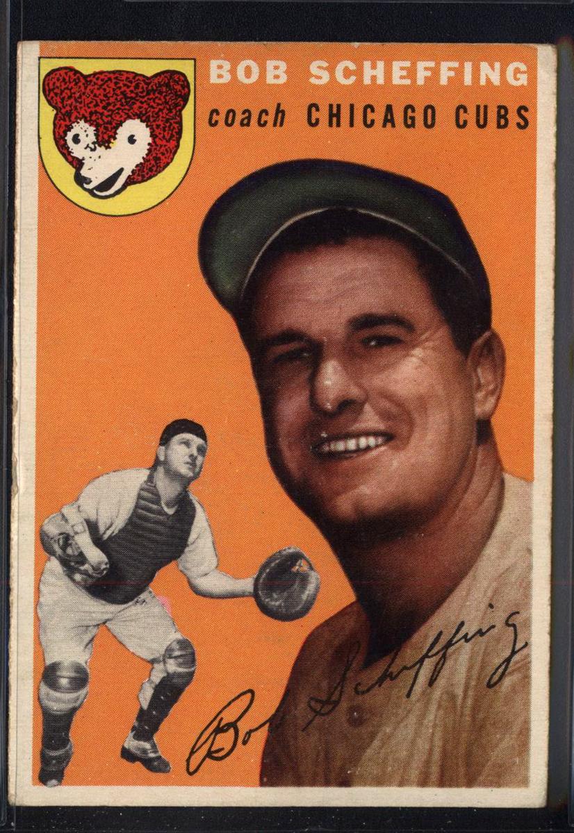 1954 Topps #76 Bob Scheffing CO