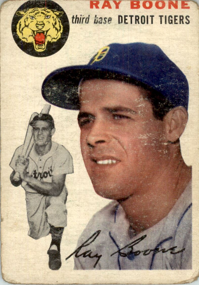 1954 Topps #77 Ray Boone