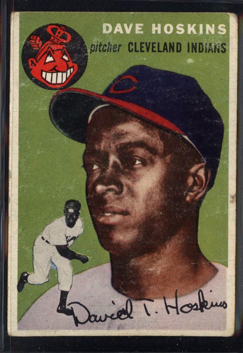 1954 Topps #81 Dave Hoskins RC