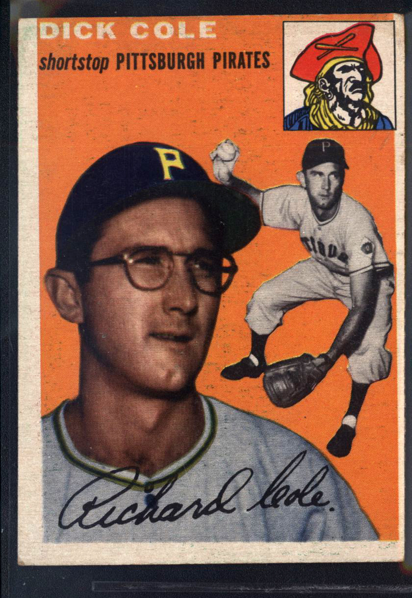 1954 Topps #84 Dick Cole RC