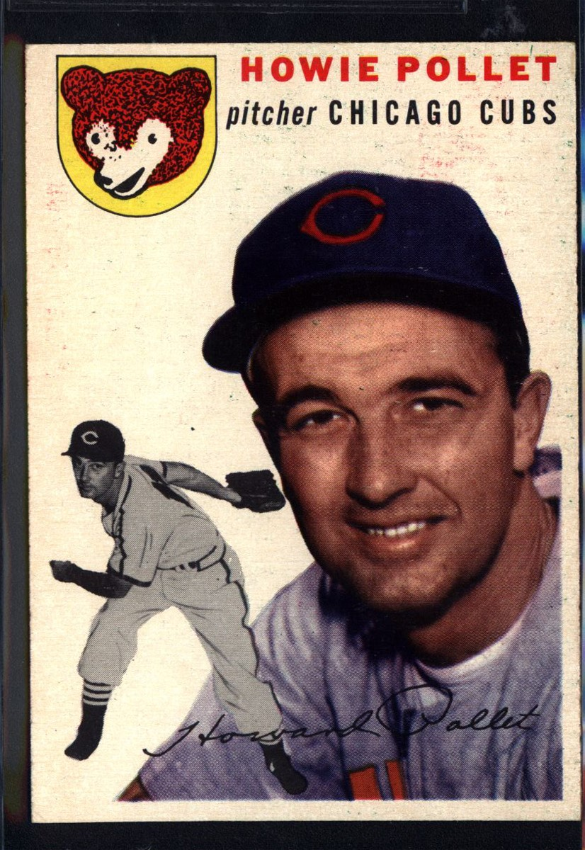 1954 Topps #89 Howie Pollet