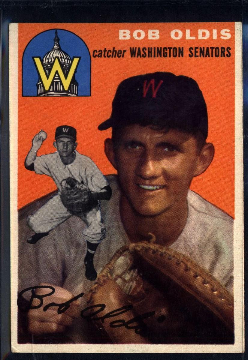 1954 Topps #91 Bob Oldis