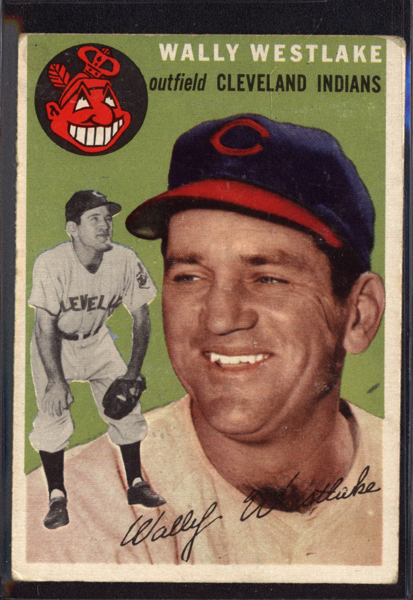 1954 Topps #92 Wally Westlake