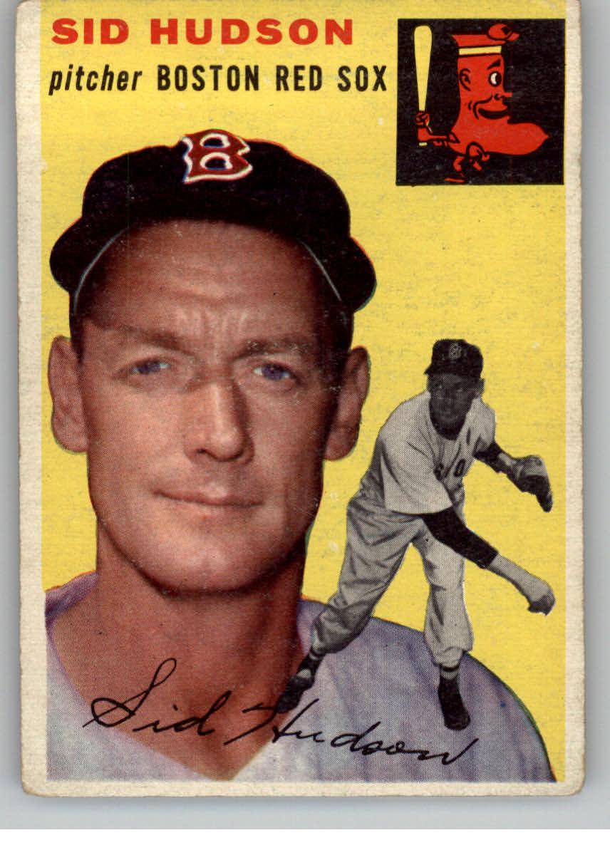 1954 Topps #93 Sid Hudson