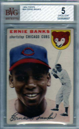 1954 Topps #94 Ernie Banks RC