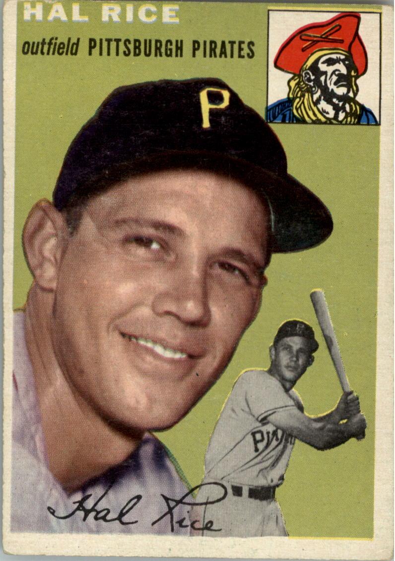 1954 Topps #95 Hal Rice