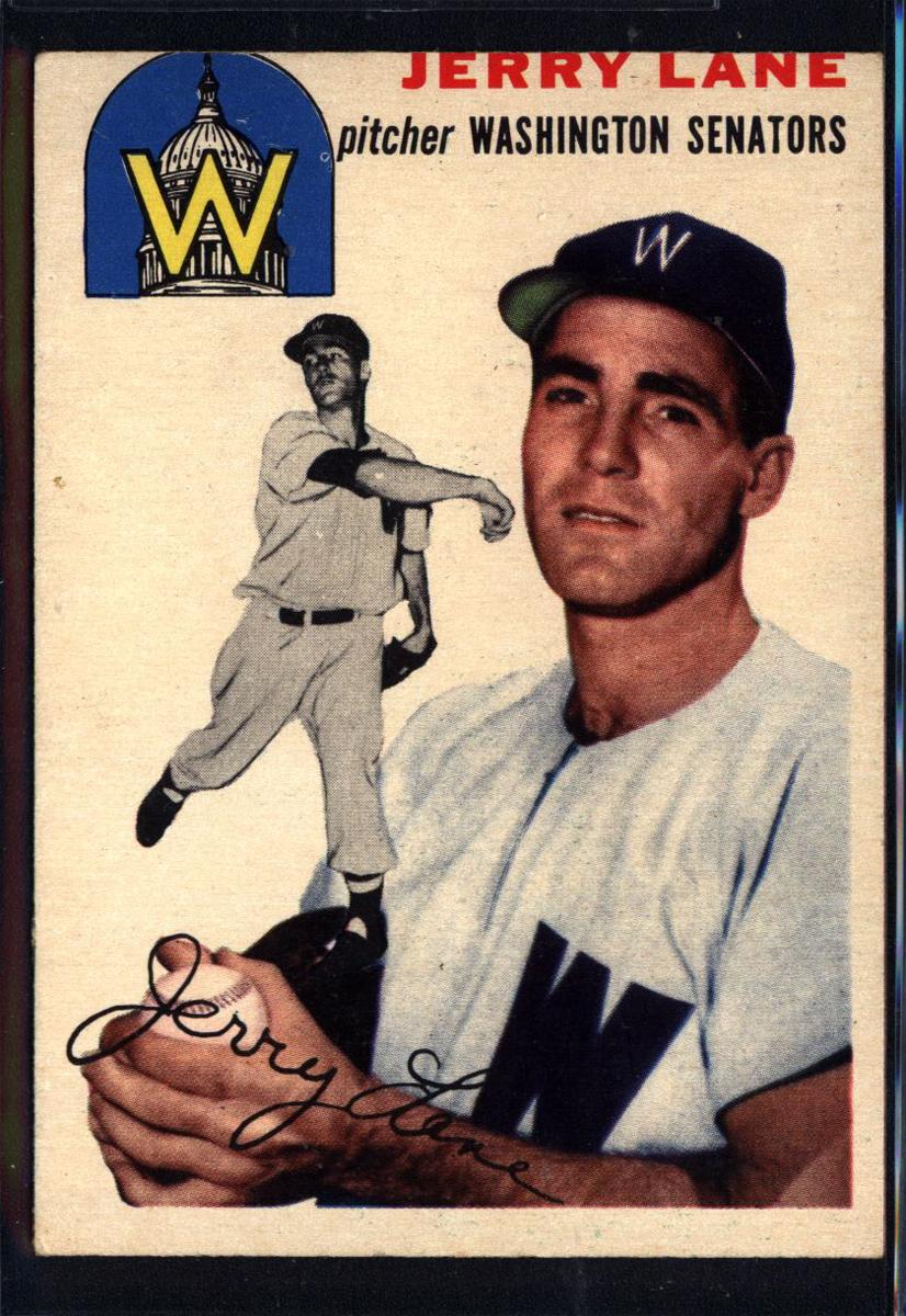 1954 Topps #97 Jerald Hal Lane RC