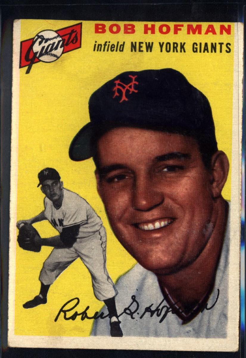 1954 Topps #99 Bobby Hofman