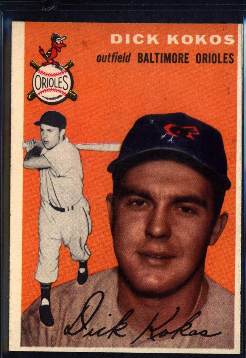 1954 Topps #106 Dick Kokos