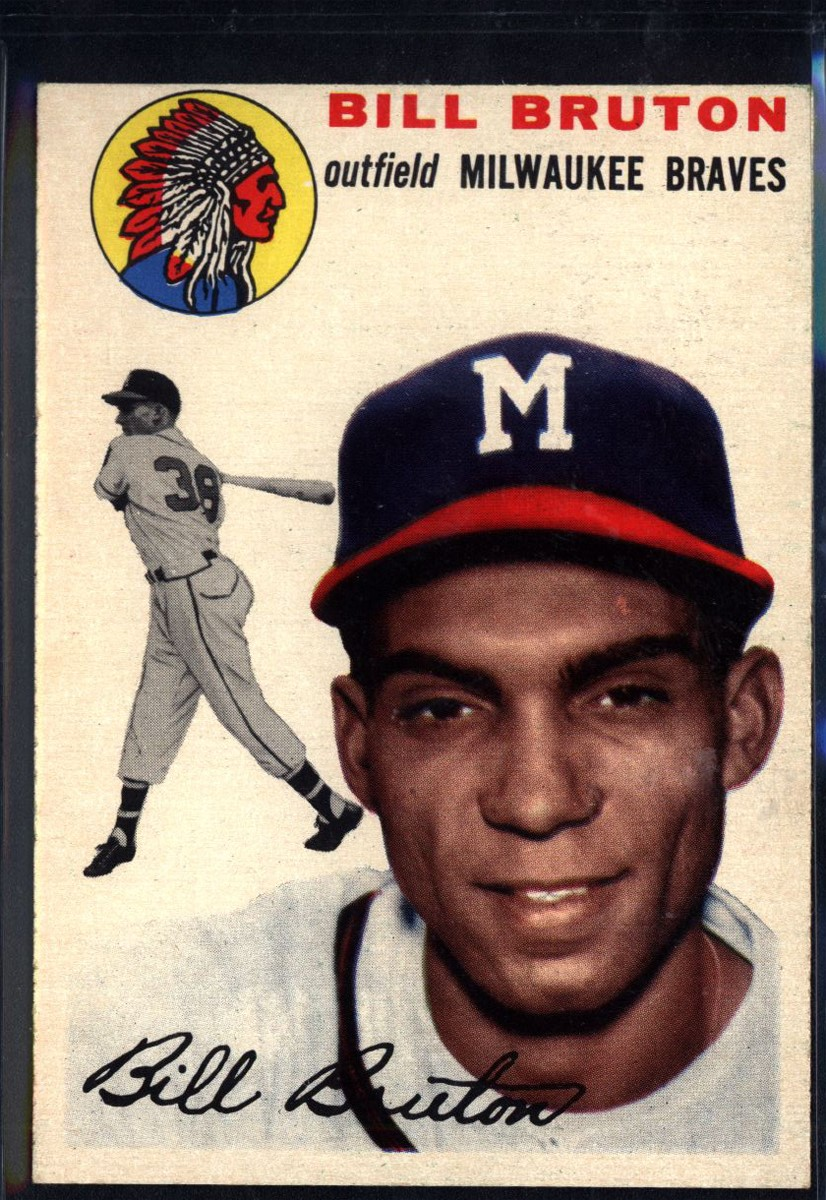 1954 Topps #109 Bill Bruton