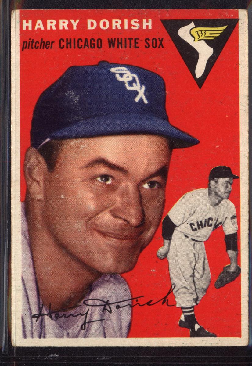 1954 Topps #110 Harry Dorish