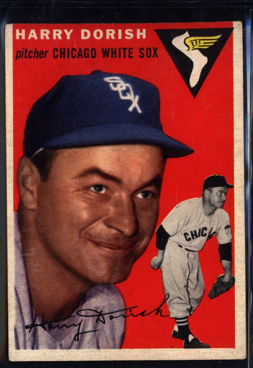 1954 Topps #110 Harry Dorish