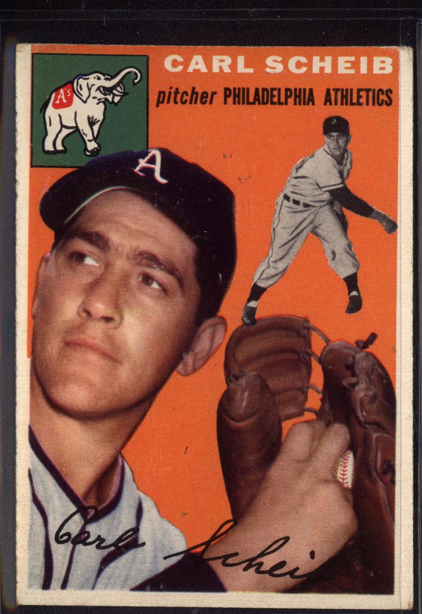 1954 Topps #118 Carl Scheib