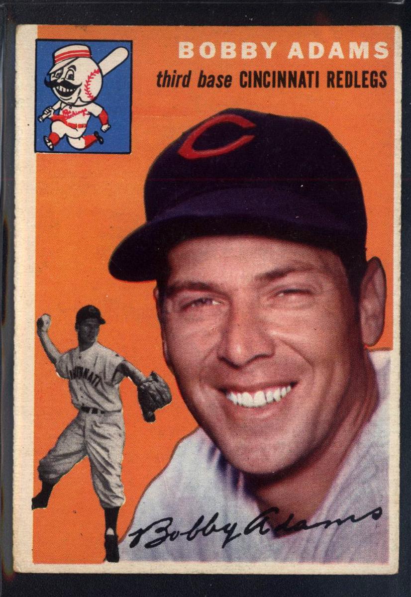 1954 Topps #123 Bobby Adams