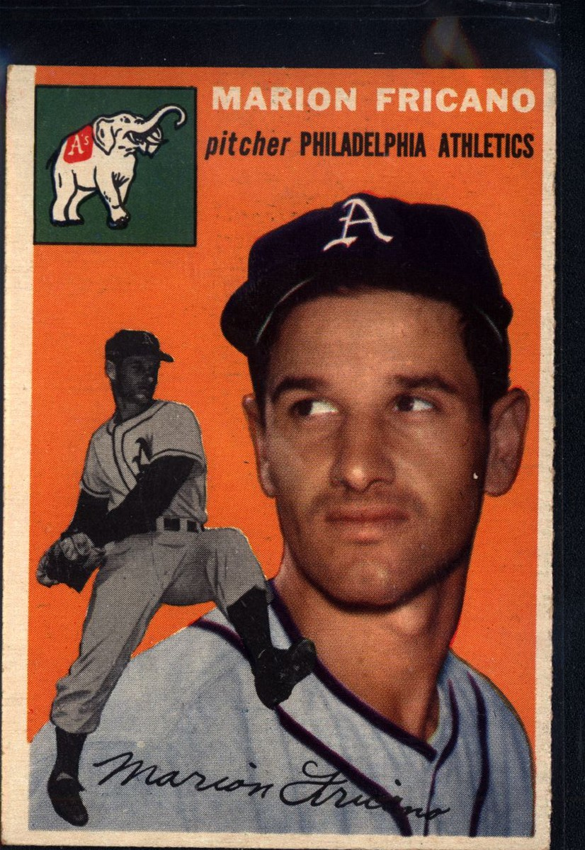 1954 Topps #124 Marion Fricano