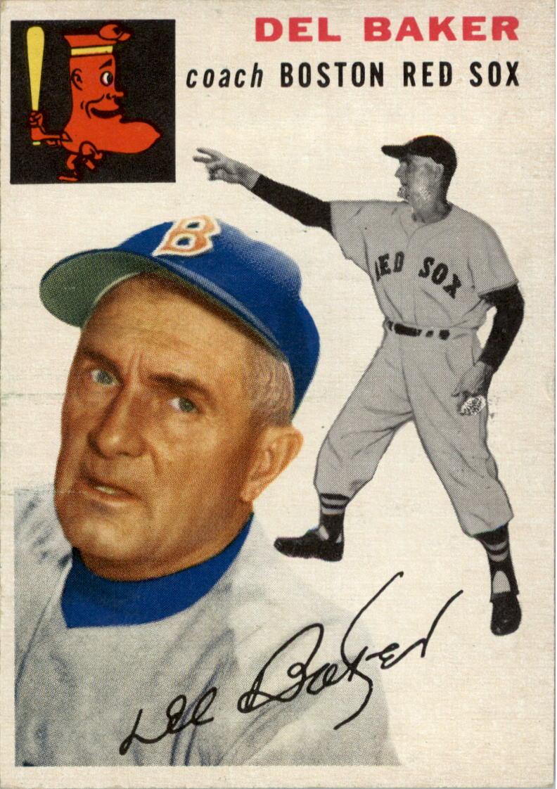 1954 Topps #133 Del Baker CO