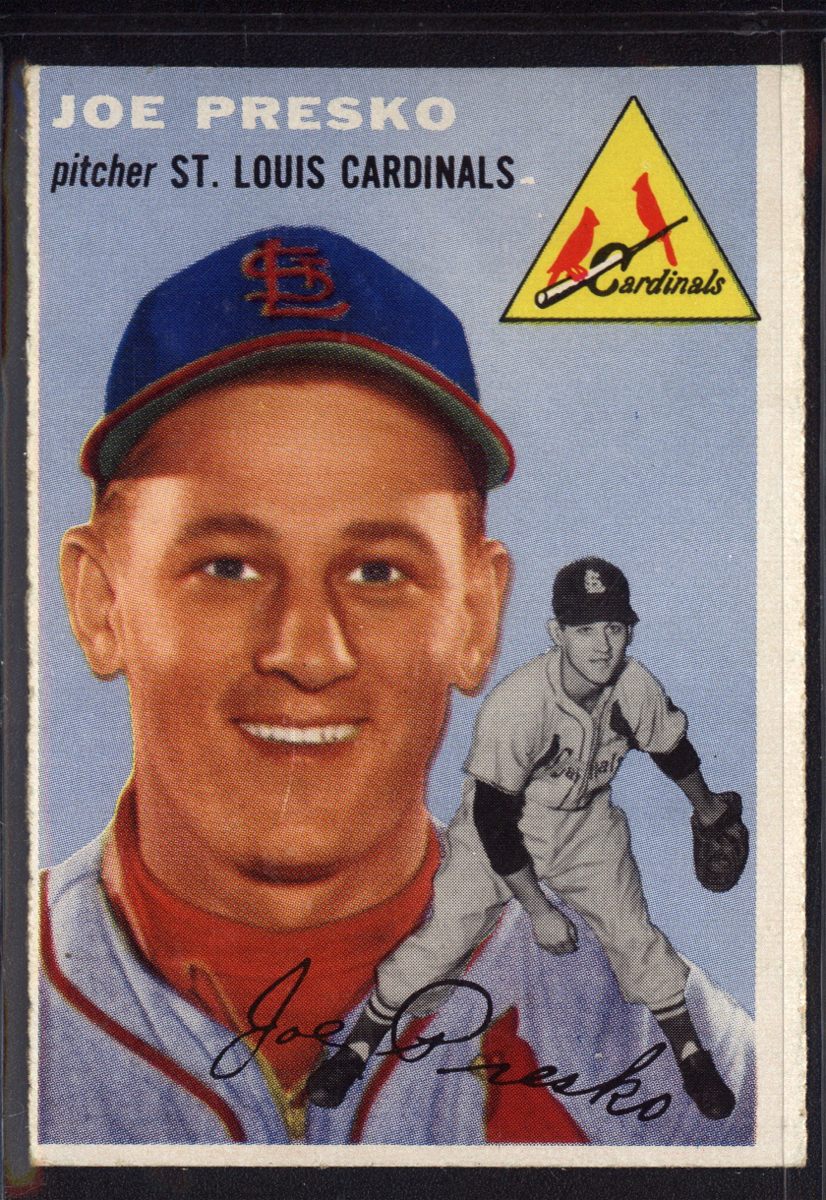 1954 Topps #135 Joe Presko