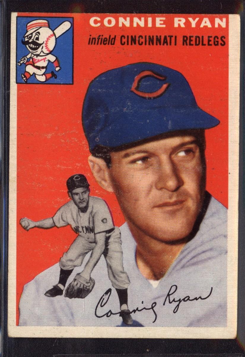 1954 Topps #136 Connie Ryan