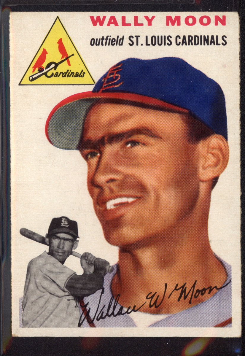 1954 Topps #137 Wally Moon RC