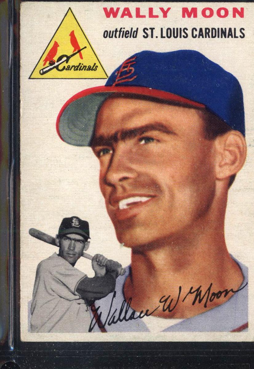 1954 Topps #137 Wally Moon RC