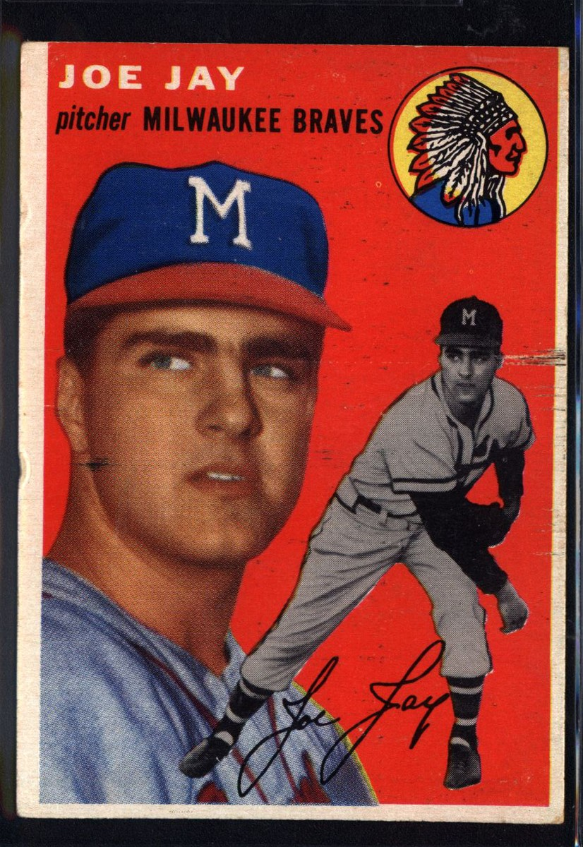 1954 Topps #141 Joey Jay RC