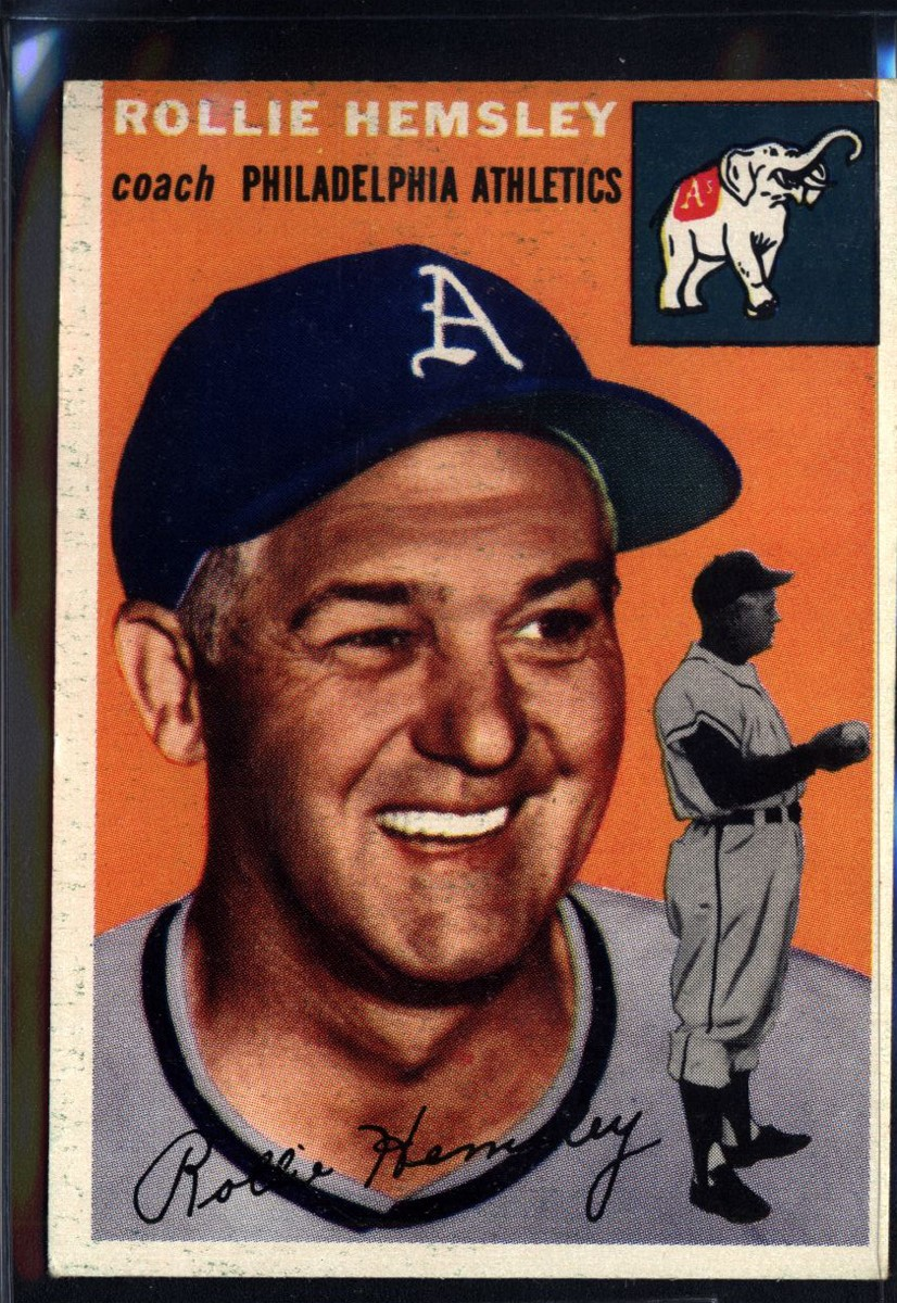 1954 Topps #143 Rollie Hemsley CO