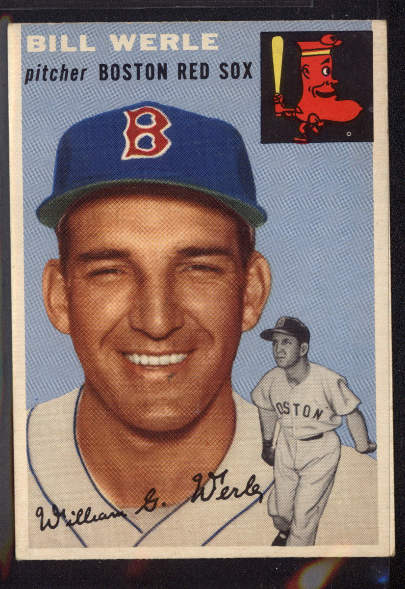 1954 Topps #144 Bill Werle