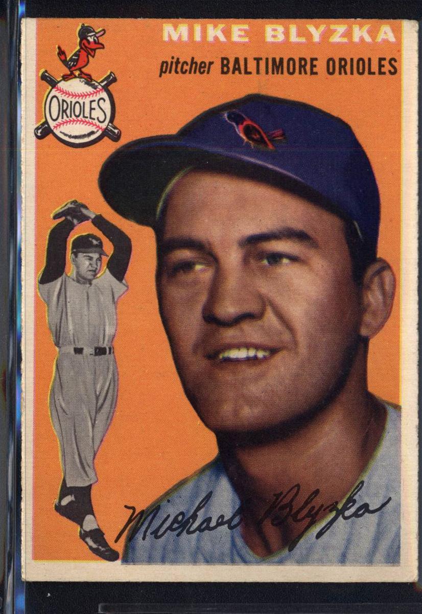 1954 Topps #152 Michael Blyzka RC