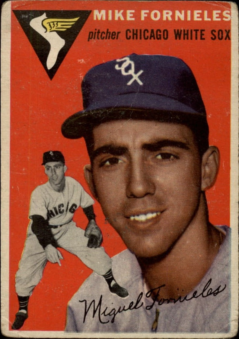 1954 Topps #154 Mike Fornieles RC