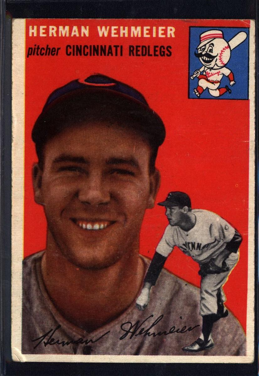 1954 Topps #162 Herman Wehmeier