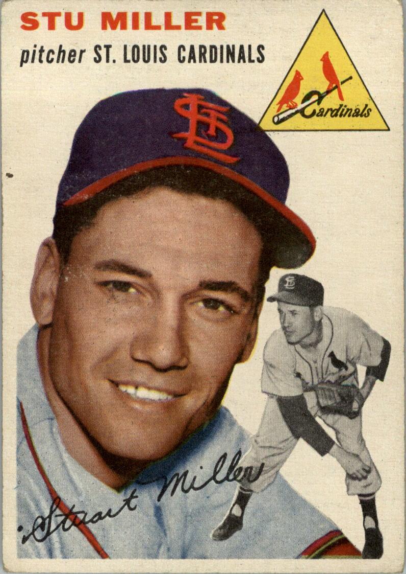 1954 Topps #164 Stu Miller