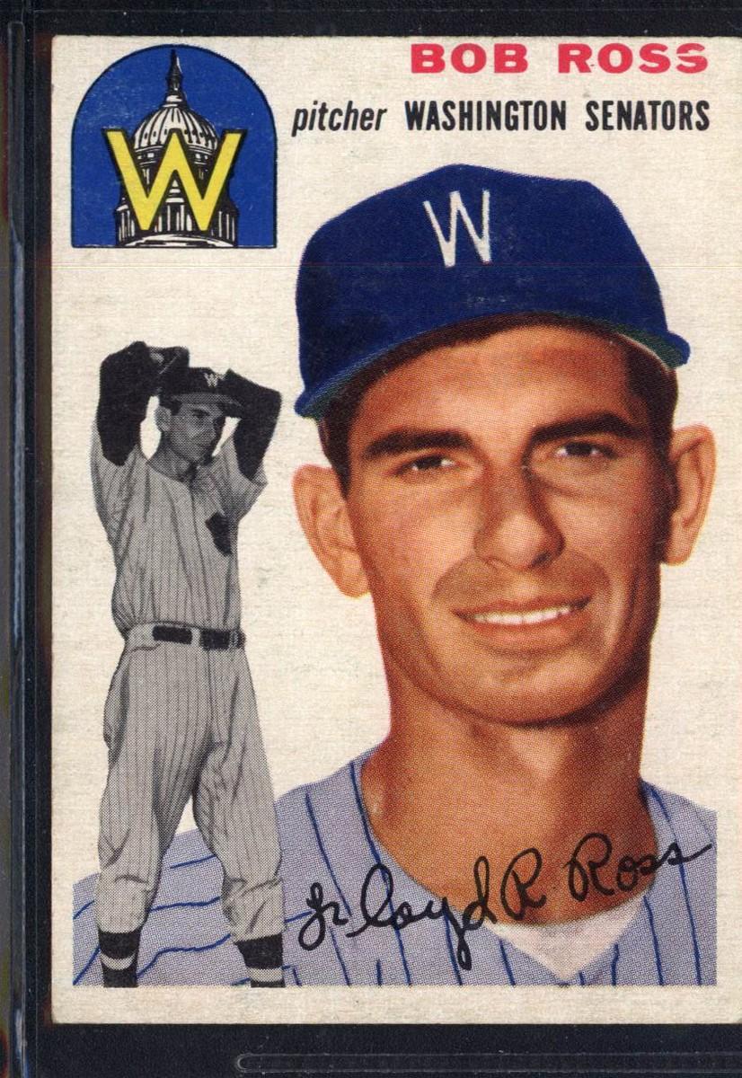 1954 Topps #189 Bob Ross