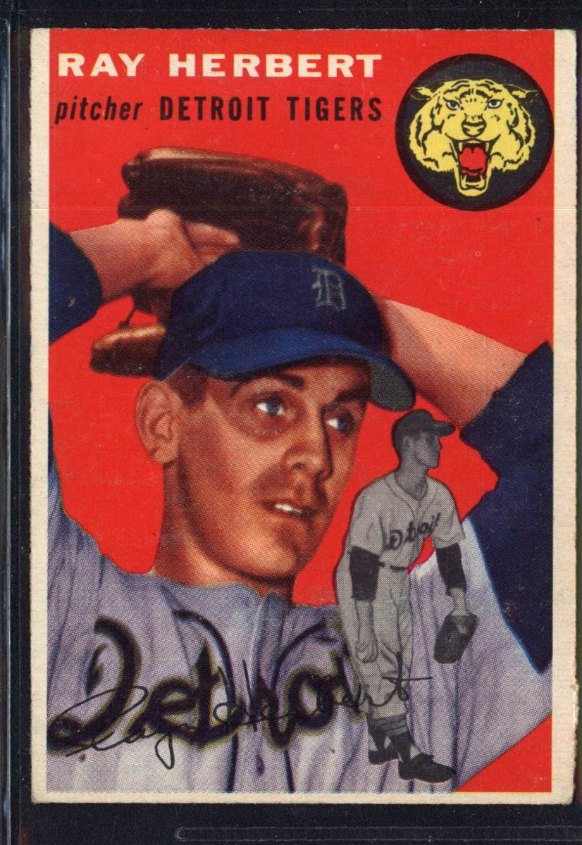 1954 Topps #190 Ray Herbert RC