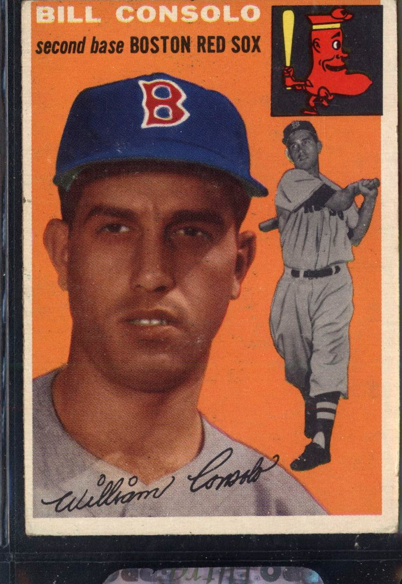 1954 Topps #195 Billy Consolo RC