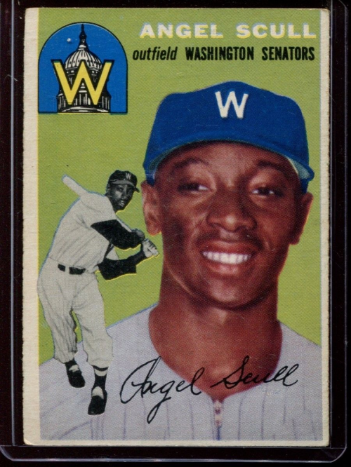 1954 Topps #204 Angel Scull RC