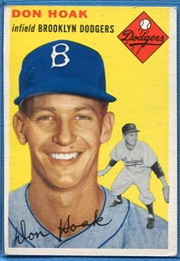 1954 Topps #211 Don Hoak