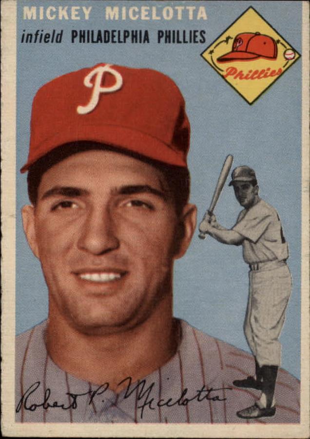 1954 Topps #212 Bob Micelotta RC