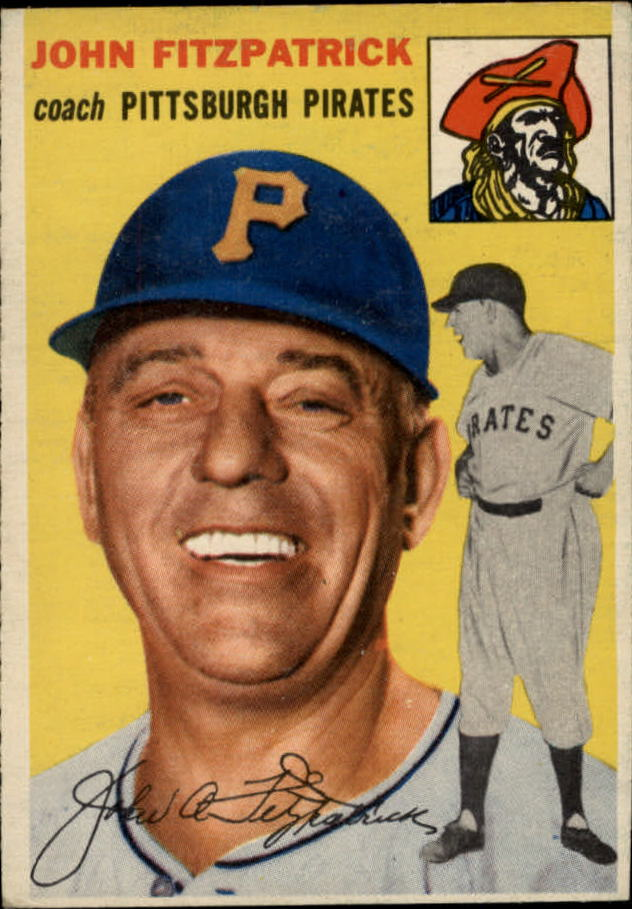 1954 Topps #213 Johnny Fitzpatrick CO RC
