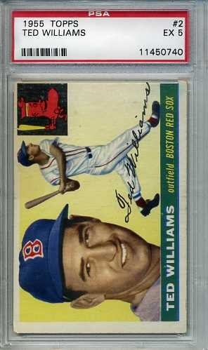 1955 Topps #2 Ted Williams