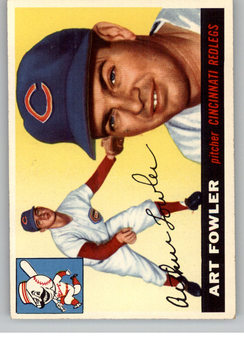 1955 Topps #3 Art Fowler RC