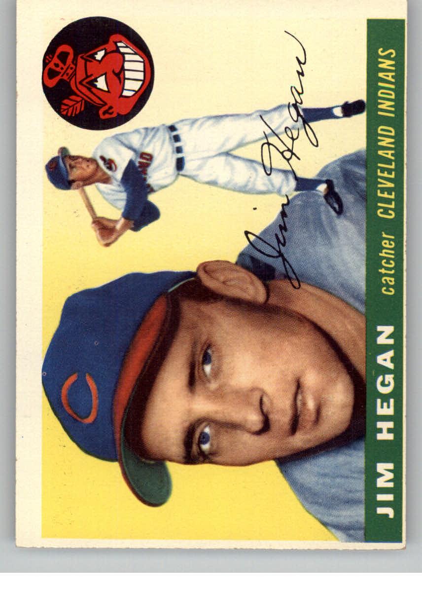 1955 Topps #7 Jim Hegan