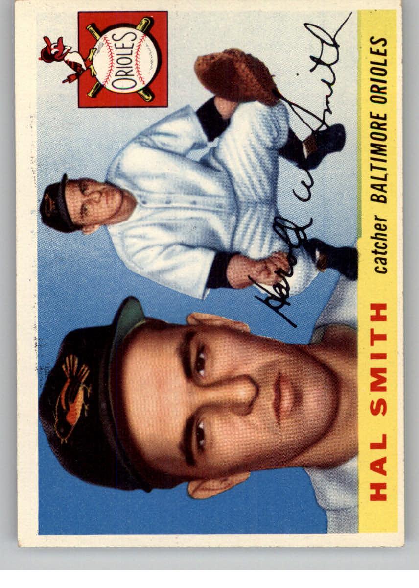 1955 Topps #8 Harold Smith RC