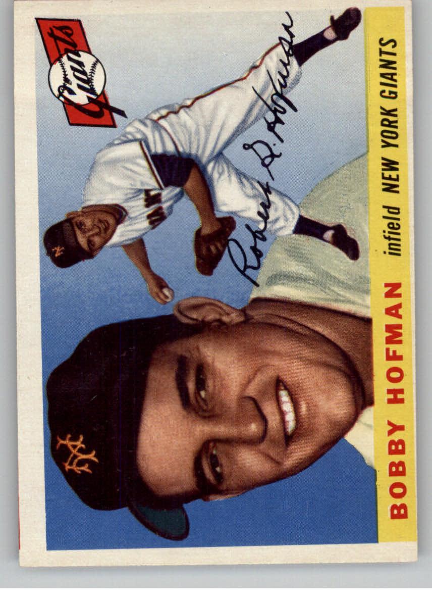 1955 Topps #17 Bobby Hofman