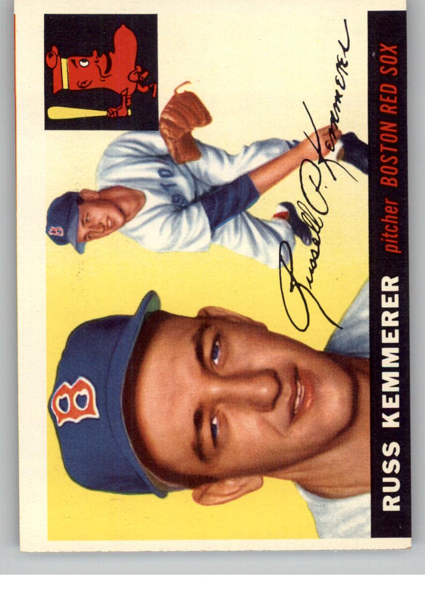 1955 Topps #18 Russ Kemmerer RC