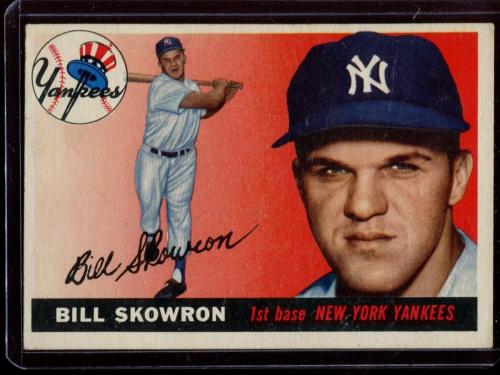 1955 Topps #22 Bill Skowron