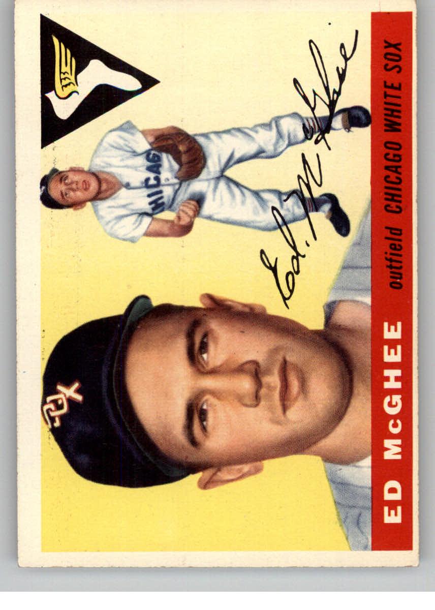 1955 Topps #32 Warren McGhee