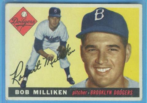 1955 Topps #111 Bob Milliken